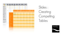 Slides - Creating Compelling Tables